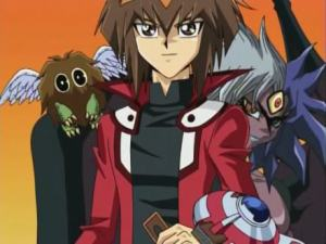 judai, yubel and kuriboh