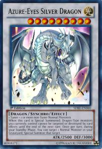 Azure eyes Silver Dragon