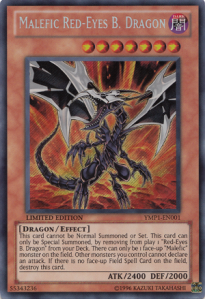 Malefic Red eyes Black Dragon