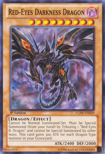 Red Eyes Darkness Dragon