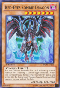 red eyes zombie dragon