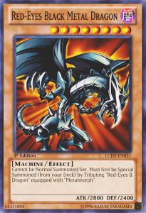 Red eyes Black Metal Dragon