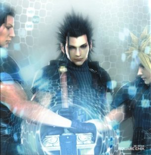angeal,cloud and zack