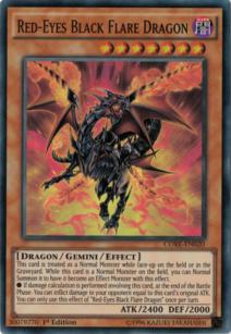 Red eyes Black Flare Dragon