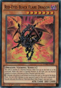 Red eyes Black Flare Dragon