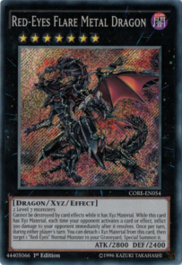 Red Eyes Flare Metal Dragon