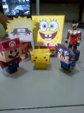 papercraft family