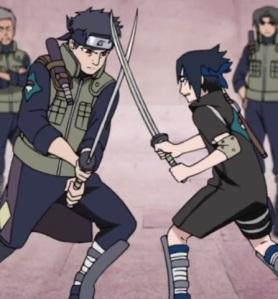 shisui vs sasuke