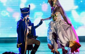 cosplay perform
