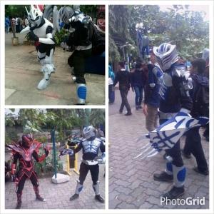 Kamen Rider Tiger and friends